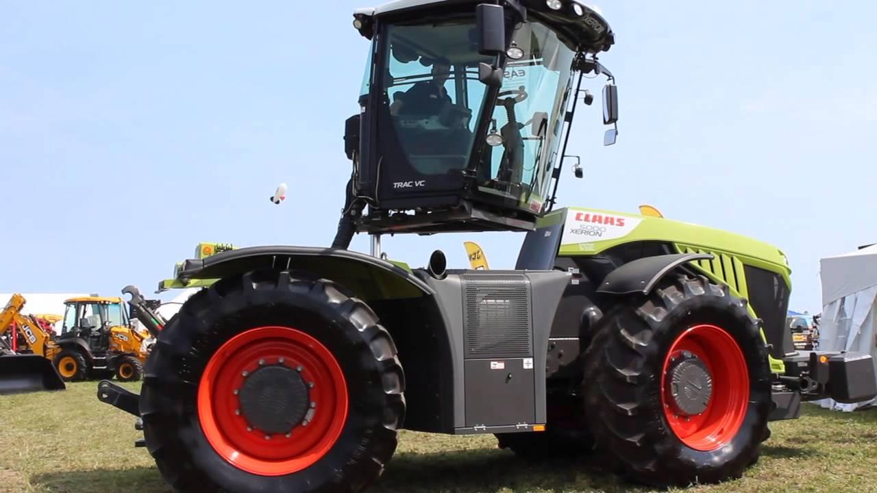 Gemeinsame Tracteurs de la série Xérion de Claas - YouTube &TB_91