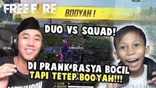 DUO VS SQUAD BARENG RASYA BOCIL GG!!! GUA TER-CARRY FIX!