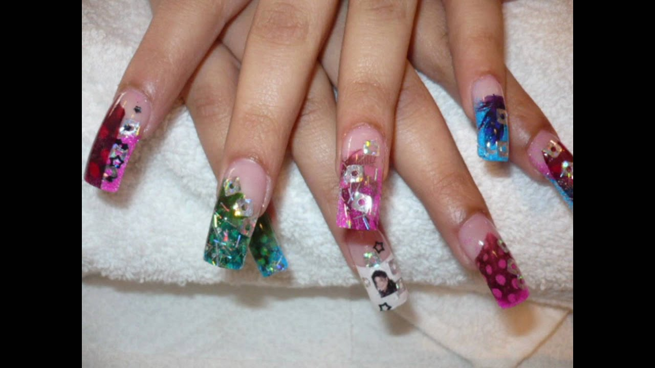 HOT NAILS DESIGNS - YouTube