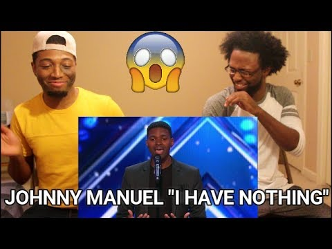 "Johnny Manuel: Guy Covers Whitney Houston's ""I Have Nothing"" - America's Got Talent (REACTION)"