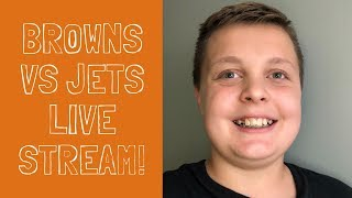 *LIVE* Browns vs. Jets play by play!! Thursday Night Football!