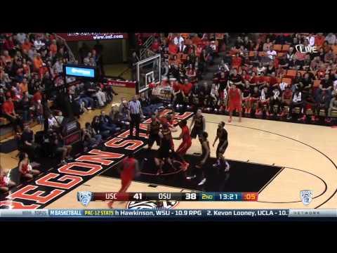 MBKB Highlights: Oregon State Vs. USC, 1/24/15