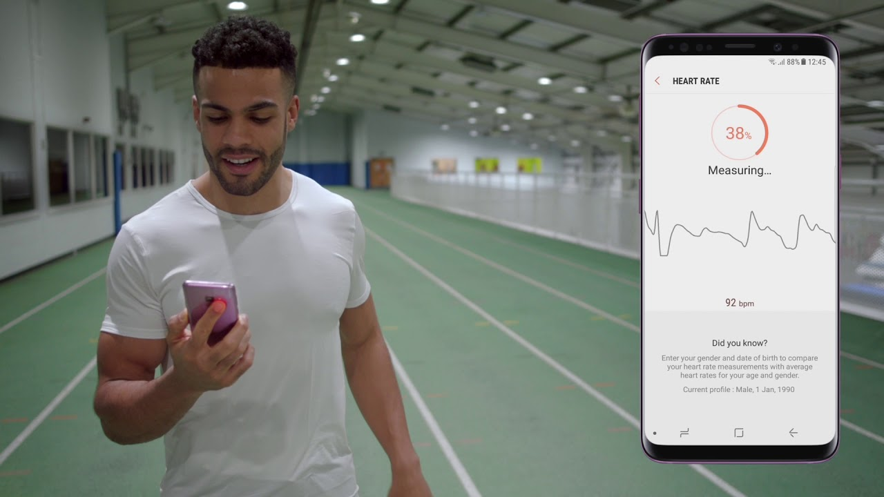 Galaxy S9 / S9+: Need-to-knows | Keeping fit & healthy | Samsung UK