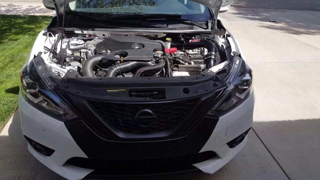 Nissan Sentra Nismo >> 2017 nissan sentra sr turbo/nismo cold air intake - YouTube