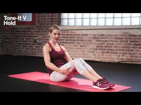 How to Do a Tone-It V Hold   Kristin McGee   Health