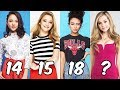 Nickelodeon Girls From Youngest To Oldest