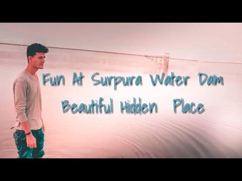 Fun At Surpura Water Dam 🌅💧Hidden Beautiful Place Near By Jodhpur (surpura Dam) (Dhiren Sisodiya)
