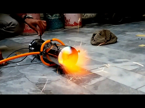 Worlds First Axial Jet Engine Homemade Engineering project 2017