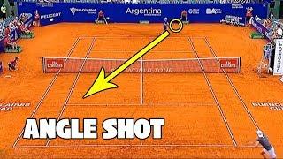 【テニス】衝撃の角度…!?錦織圭のアングルショットが凄すぎる…!【神業】Kei Nishikori Best Angle Shots 錦織圭 検索動画 5
