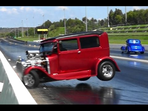 HOTROD DRAG RACING CRASH
