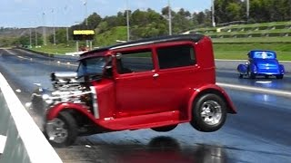 Hotrod Drag Racing Crash