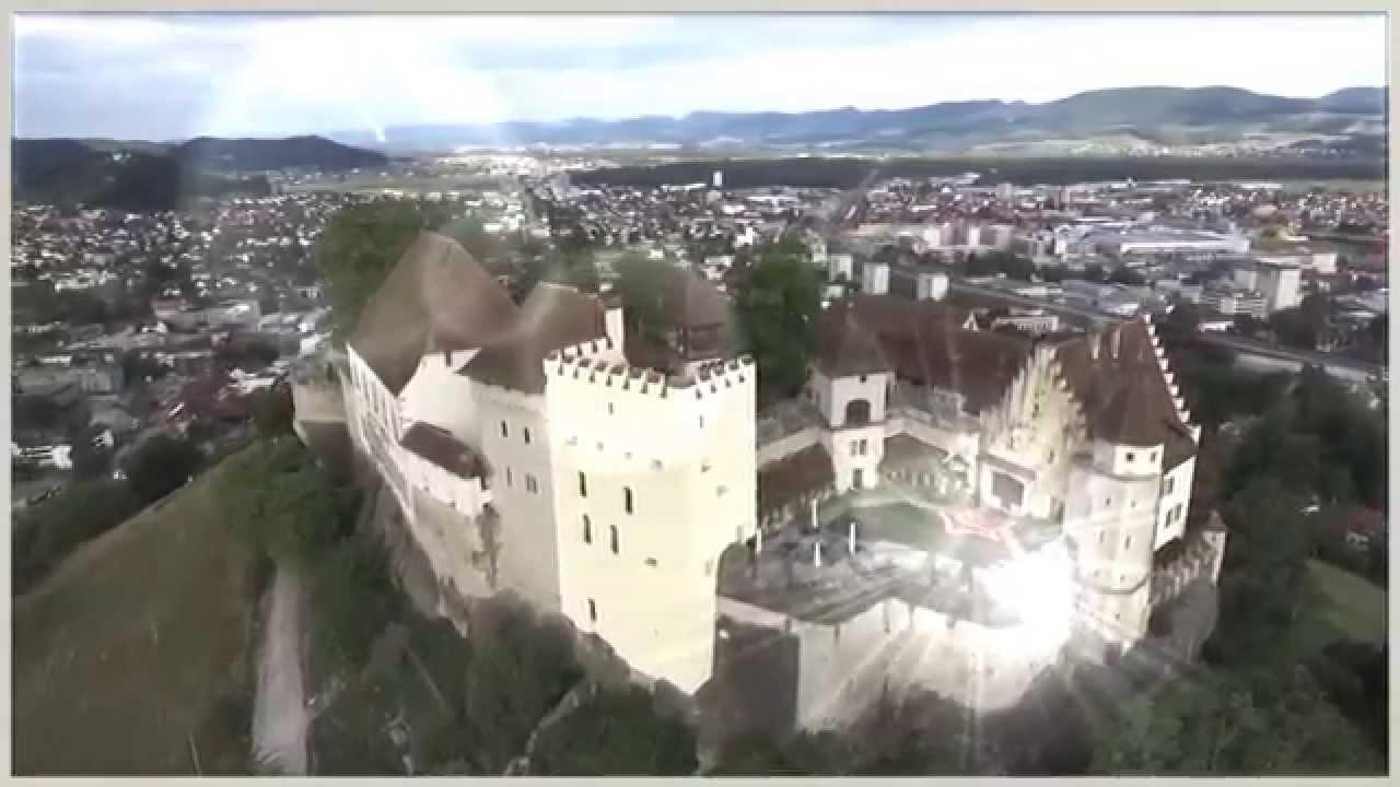 Швейцария. Замок Ленцбург. Туризм, отдых и путешествия.