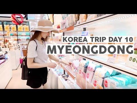 Korea Trip 2017 Day 10 ⎮Underground shopping, Myeongdong & Leaving