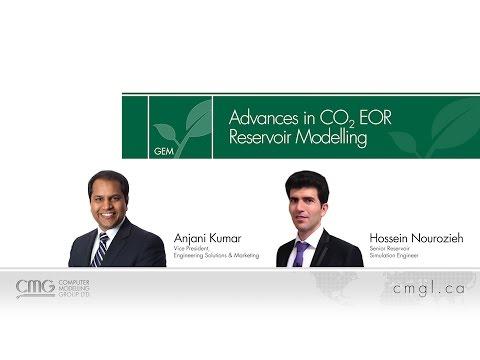 Advances in CO2 EOR Reservoir Modelling