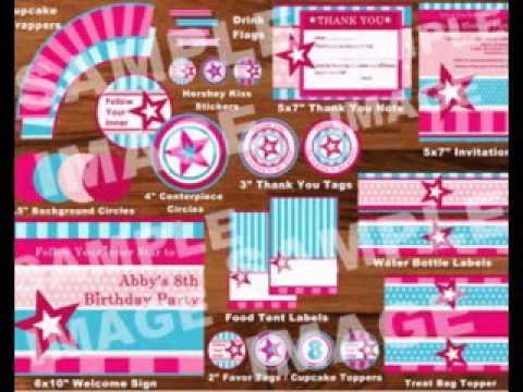 Diy American Girl Birthday Party Decorating Ideas Youtube