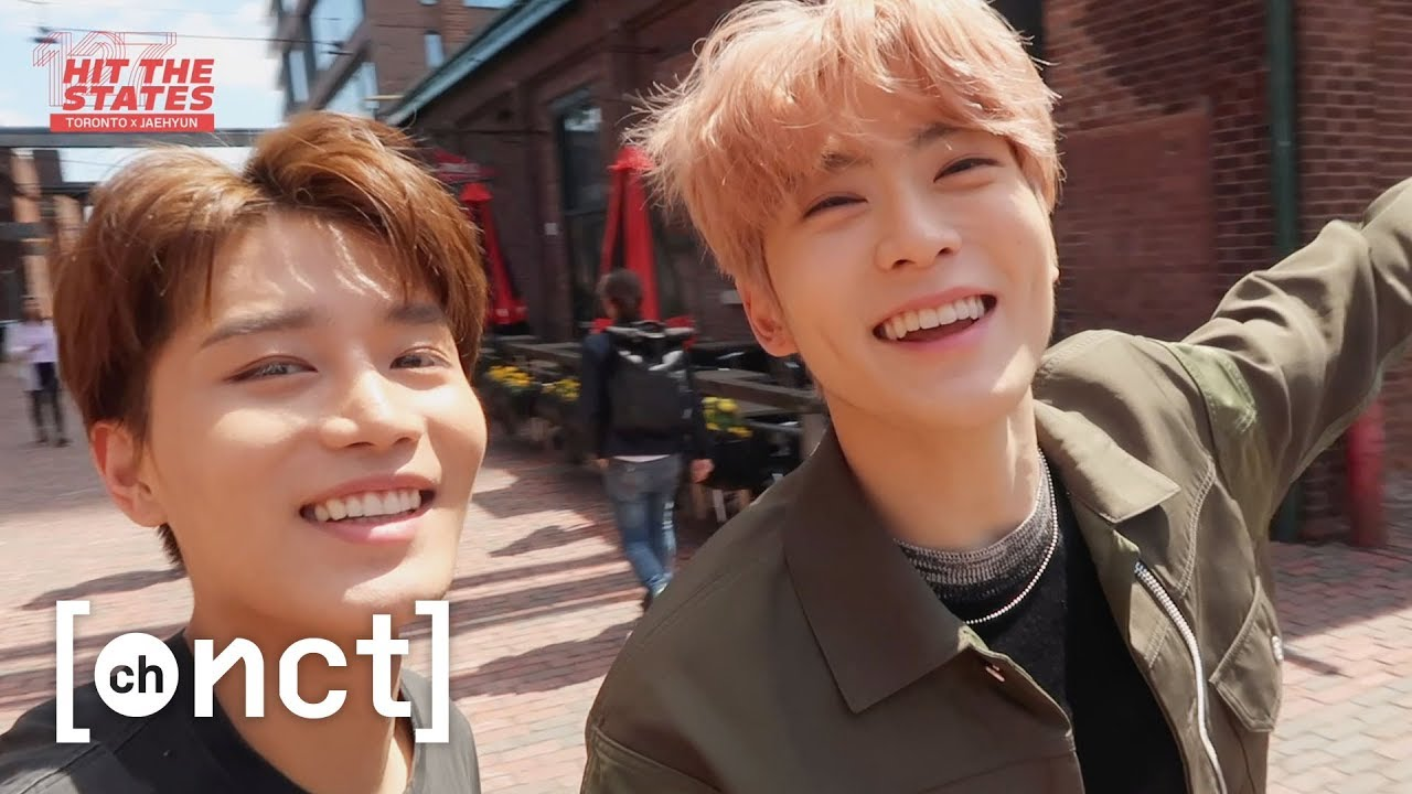 JAEHYUN X TORONTO : Roommates Tour in the Distillery District (Feat  TAEIL)  | NCT 127 HIT THE STATES