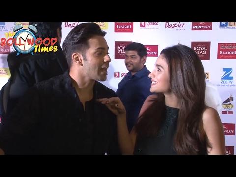 Varun Dhawan and Alia Bhatt | Most FUNNY Interview At Mirchi Music Awards 2017