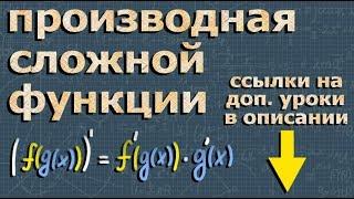 ПРОИЗВОДНАЯ СЛОЖНОЙ ФУНКЦИИ Романов