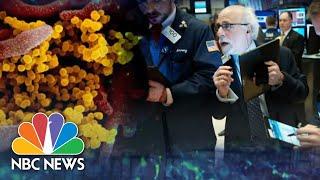 Dow Plunges Amid Fears Coronavirus Will Tank Global Economic Growth | NBC Nightly News
