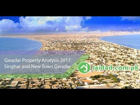 Gwadar property intro and analysis in Singhar Housing Gwadar and New Town Near PC Hotel Gwadar 2017