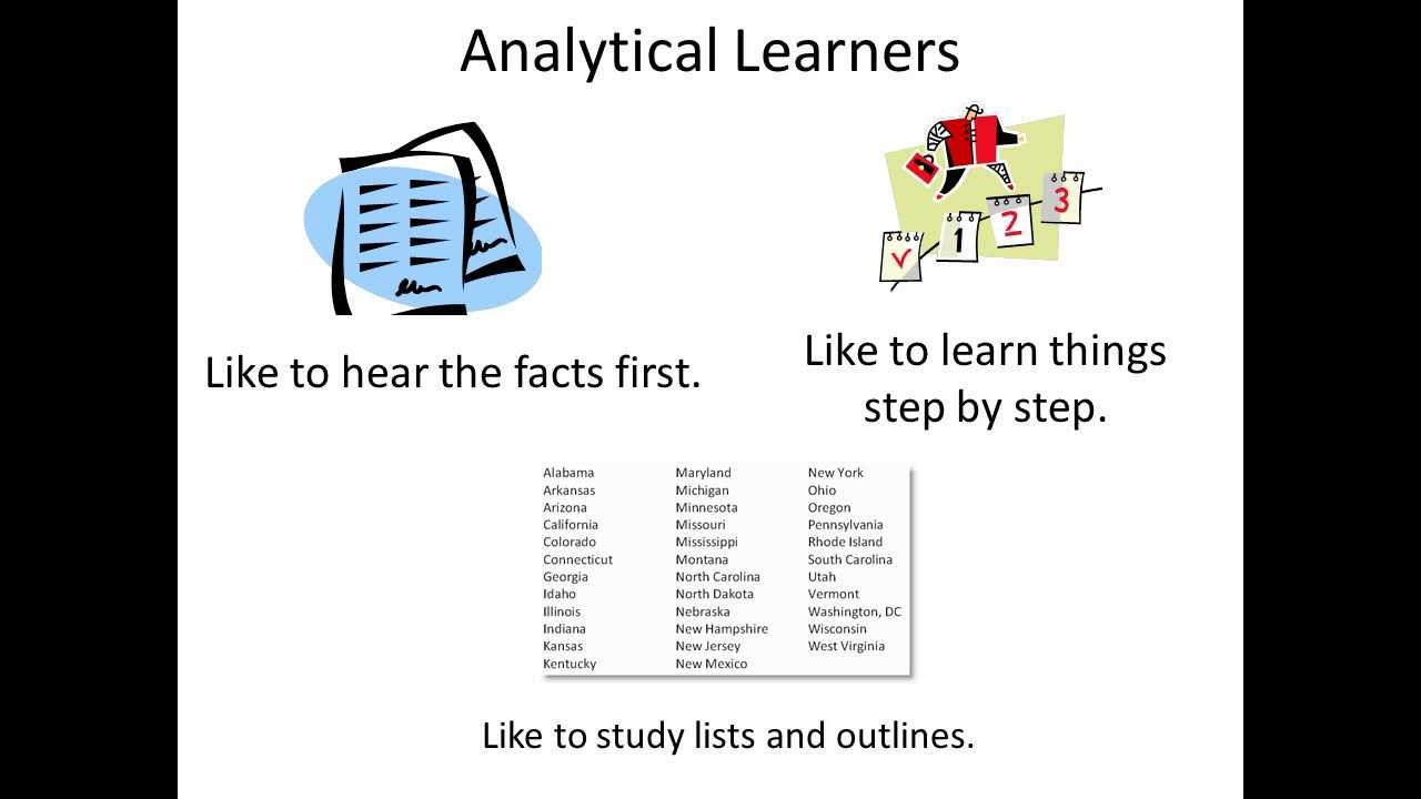 Analytical Learning analytic & global learning preferences for teens & adults