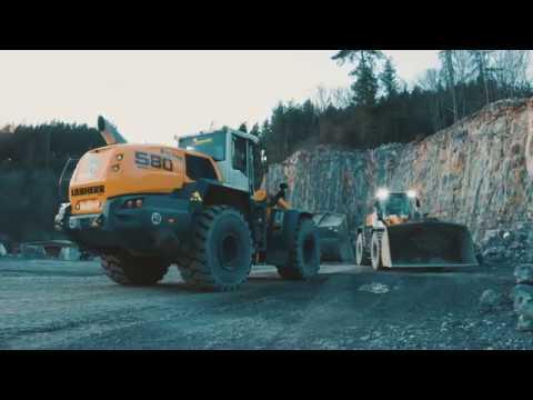 Liebherr - Vom Fels zum Sand - XPower-Radlader im Einsatz