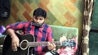 Hai Apna Dil To Awara - Guitar and Harmonica
