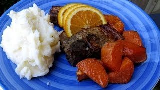 How To Make Orange Pork Chops