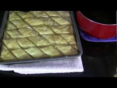 Persian Food   Baklava a Traditional Persian dessert