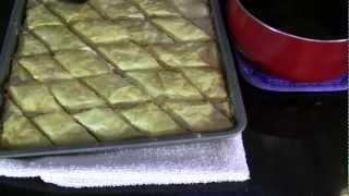 Persian Food | Baklava a Traditional Persian dessert