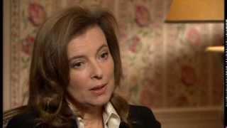 Valérie Trierweiler talks to Newsnight - Newsnight