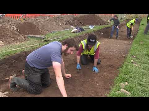 Community Archaeology Dig At Gallow's Hill, Dungarvan 2017