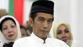 Video Jokowi Bernyanyi Deen Assalam  yang Dipopulerkan Nissa Sabyan