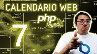 Calendario web con PHP y MySQL usando fullcalendar (Video 7 - descripción del evento)
