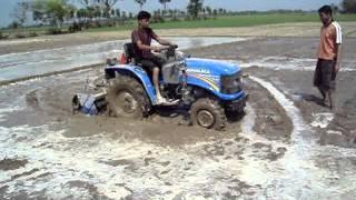 Sonalika Gardentrac Tractors in wet land