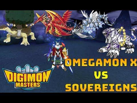 Omegamon X annihilates all Holy Beast DGs ||DMO||GDMO||LUCEMON||