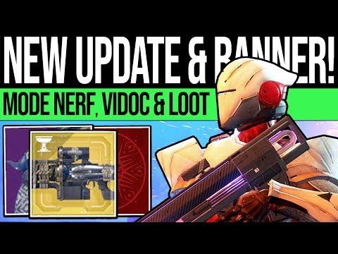 Destiny 2 | NEW UPDATE & FINAL BANNER! DLC News, Reset Patch, Vendors & Eververse (17th Sep)