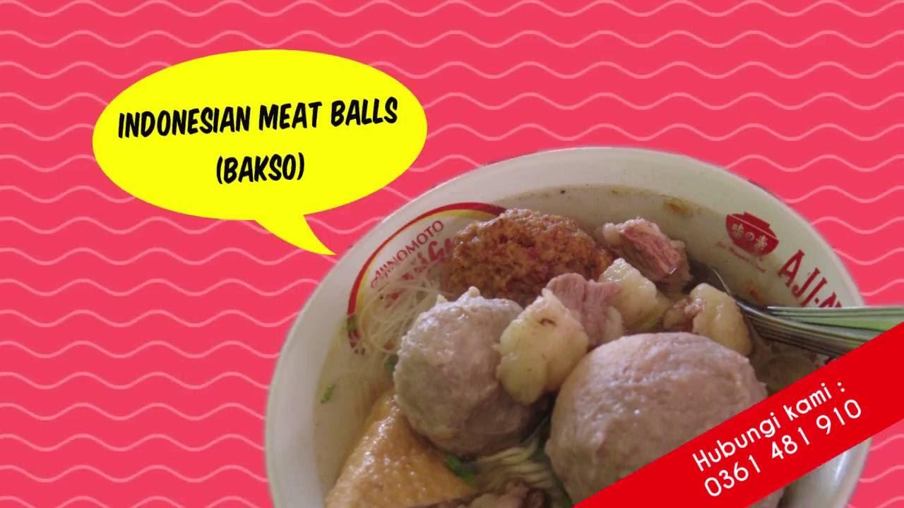 Nama Nama Makanan Indonesia Dalam Bahasa Inggris Youtube