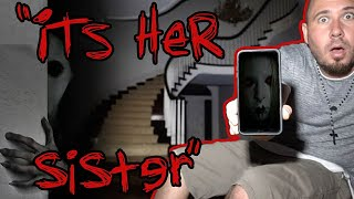 (SIRI'S SISTER) HAUNTED MILLION DOLLAR MANSION AT 3AM - DO NOT TALK TO LAURA - 3:00 AM (SIRI) thumbnail