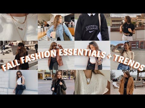 MY FALL CLOTHING + WARDROBE ESSENTIALS | WHAT YOU *NEED* FOR FALL 2020 !!