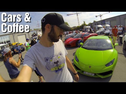 [VLOG] Cars & Coffee Luxembourg: Carrera GT, Aventador SV...