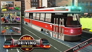 Tram Train Driver Simulator 2018: Public Transport
