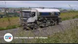 Coopérative Alsace Lait - sur les routes alsaciennes