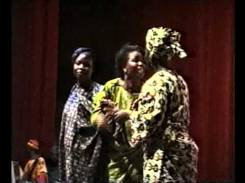 LAGOS STATE  THEATRE WEEK FORUM ORGANISES PARTY, FASHION EXTRAVAGANT , 1992 1