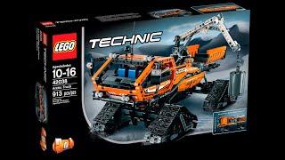 LEGO Arctic Truck - 42038/Арктическая машина (Гусеничный снегоход)(Arctic Truck - 42038/Огромный гусеничный снегоход, который вполне может стать мобильным штабом или полярной станцие..., 2016-01-03T12:47:21.000Z)