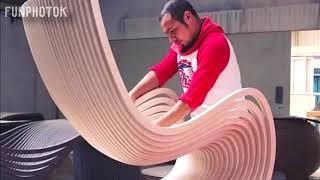 Niesamowite rzeczy zrobione z drewna ! musisz to zobaczyć !