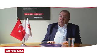 Ahmet Örs, The Doyen of the Turkish Cuisine shared opinion about the Brands Çözüm and Arisco
