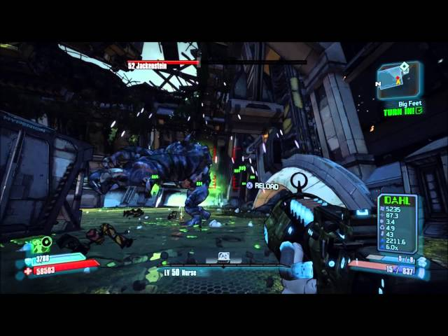 How to kill Jackenstein solo - Two ways - Hammerlock DLC - Borderlands 2
