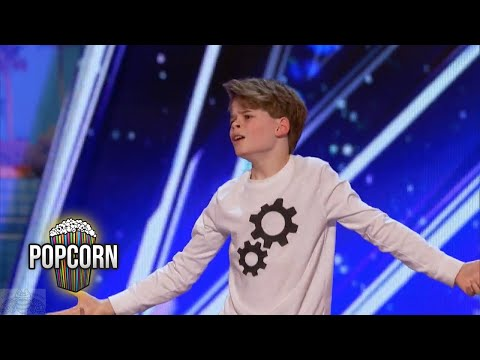 America's Got Talent 2017 Merrick Hanna 12 Year Old's Captiv