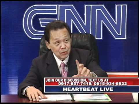 heartbeat episode 102111 with guest senator sergio osmeña III (part1)